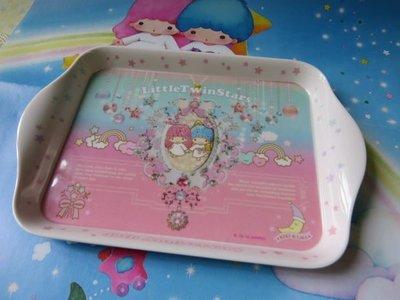 雙子星店 Sanrio Little Twin Stars 雙子星 40週年限量 寶石食物小托盤 茶盤 家庭用品 日本
