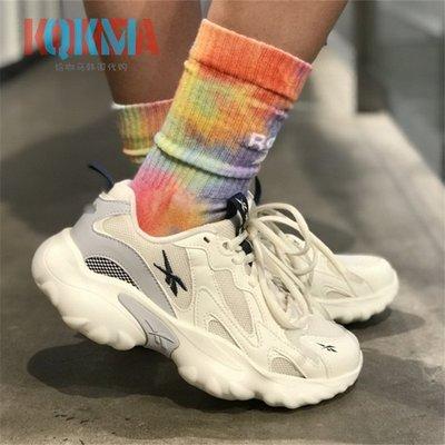 酷玩運動城Reebok銳步Dmx Series 1000男女復古休閒運動老爹跑鞋FZ5234 35