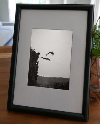 聚鯨Cetacea﹡Art【KLFZ-0801】diving跳水/seaside海邊 畫框相框