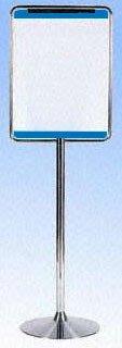不銹鋼 立式 告示牌 標示架 告示板 台製,不晃搖不傾斜,品質保證 另有 圍欄 桿