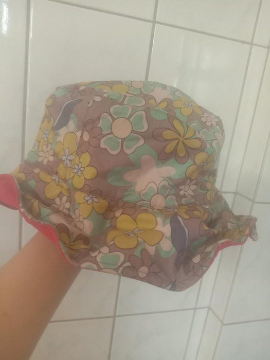h2o專櫃少女兩用碎花帽