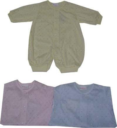 可愛寶貝--- ◎◎全新愛心印花兩用嬰兒連身服---0~16個月 ◎◎☆☆人氣商品☆☆