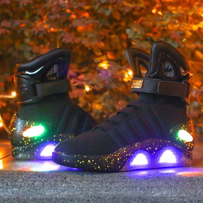 爆款USB發光鞋運動鞋led燈鞋男鞋休閒運動鞋