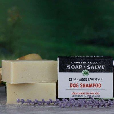 Chagrin Valley 狗狗有機洗澡手工皂 3.8OZ – 雪松薰衣草