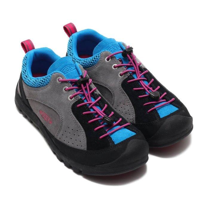 =CodE= KEEN JASPER ROCKS SP X THC 麂皮多功能慢跑健行鞋(灰黑藍) 1019868 男
