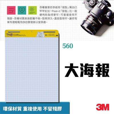 特賣 3M 560 可再貼自黏大海報