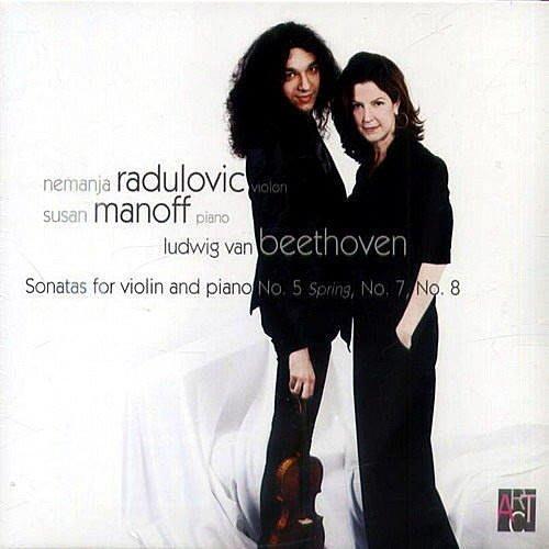 貝多芬:第五號小提琴奏鳴曲 / 曼亞.拉杜洛維奇 / 充滿無數的驚奇 --- 7640144270025