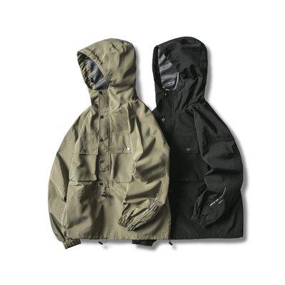 Meili時尚館Letter printed loose set of American streets hooded head