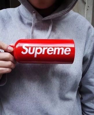 全新商品 Supreme 18SS 0.6L Water Bottle 鋁製 運動 水壺