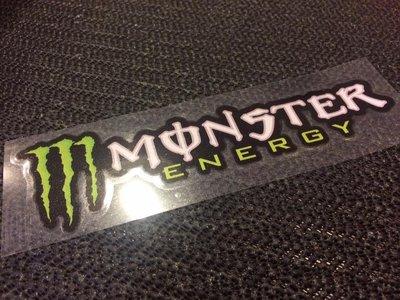 【貼紙倉庫】鬼爪 Monster ENERGY 防水貼紙 反光貼