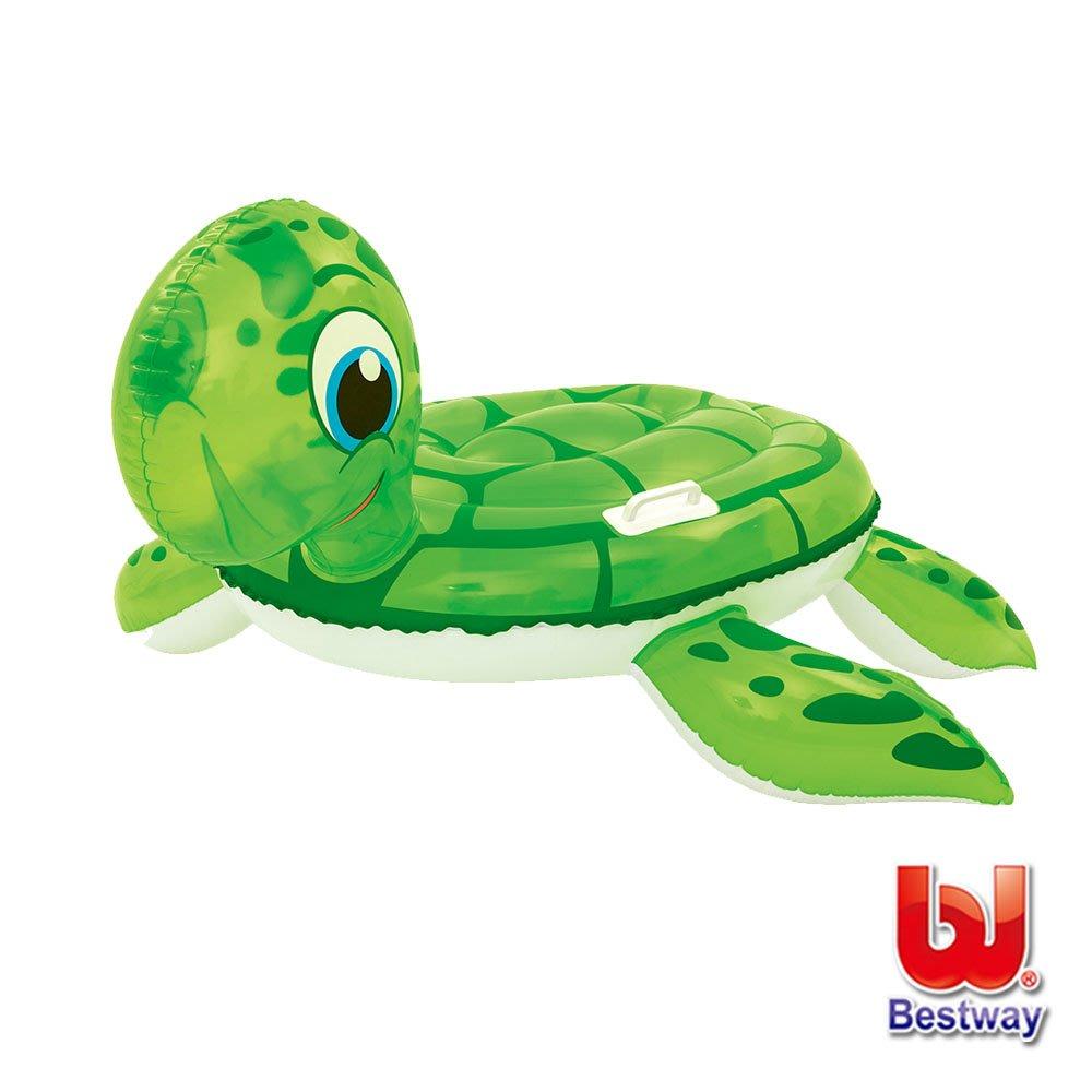 Bestway。海龜造型充氣浮排/座圈41041(69-24046)