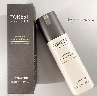 innisfree 綠樹林風男士精華 Forest For Men All In One Essence 精華液 預購