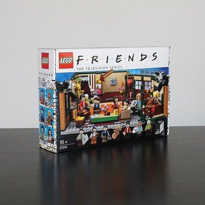 LEGO樂高 IDEAS系列 21319老友記咖啡館美劇男孩收藏拼裝積木玩具