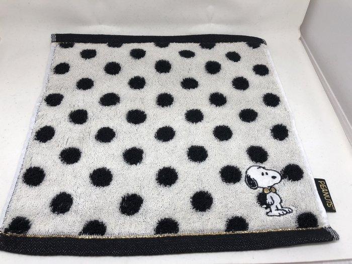 日本 史努比 幾何系列 小方巾/手帕
