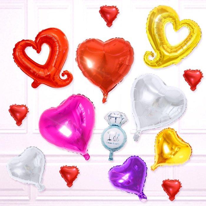 3件起售 不滿不送*優享家旗艦店-驚喜婚房場景婚禮布置心形鋁膜氣球裝飾結婚用品生日派對浪漫臥室