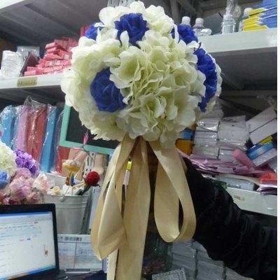 5Cgo【鴿樓】會員有優惠 37840683937 繡球手捧花韓式新娘婚禮仿真道具 影樓婚紗攝影拍照婚禮慶典花球