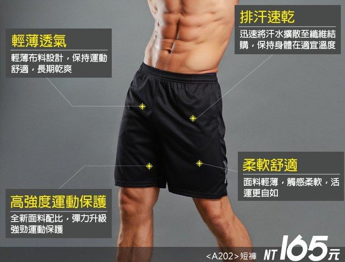 ☆PART2單車 ( A202 ) 吸濕 排汗 速乾 運動 跑步 反光條 短褲-不分男女-促銷價 165元