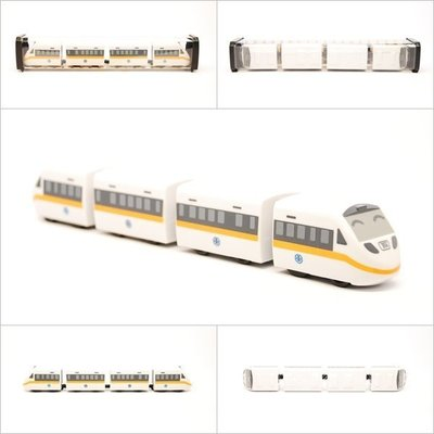 TRAIL 鐵支路 Q版 迴力小列車 太魯閣號 (TAROKO電聯車) QV005T1