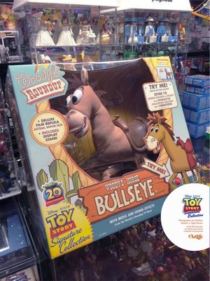 Artlife @ THINKWAY PIXAR Signature Bullseye 玩具總動員 絕版 證書版 紅心