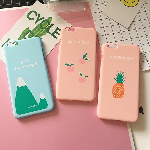 iphone小清新手機殼【ZOWOO-B0064】6 6s Plus 5 5s文青zakka 非史黛拉兔聖誕星巴克fun