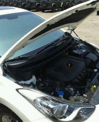 [晨達] HYUNDAI ELANTRA 2012 專用款引擎蓋支撐桿 油壓桿 頂桿