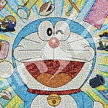 拼圖專賣店 日本進口拼圖 1000T-87(1000片拼圖 哆啦A夢 馬賽克)+細白
