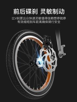 菲利普兒童折疊自行車小男孩女童中大單車5-6-7-8-10歲14寸腳踏車童車 登山車 鋁合金材質輪圈 愛爾蘭自行車