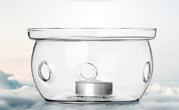 晴天咖啡☼ 玻璃保溫座 ﹍﹍﹍ 保溫爐座 花茶壺加熱底座 蠟燭溫茶器 暖茶器 花茶壺加熱器 燭台