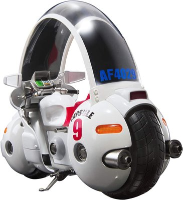 日本正版 萬代 S.H.Figuarts SHF 七龍珠 布瑪 機車 膠囊9號 可動 模型 公仔 日本代購