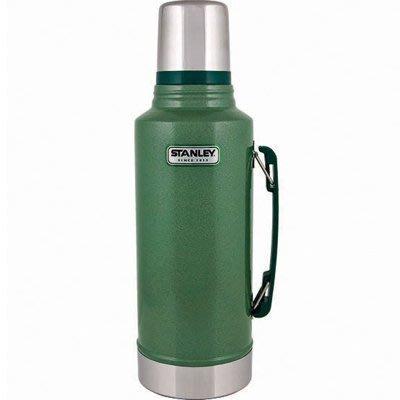菲比小舖 美國 STANLEY 經典系列 真空保溫瓶 1.9L 食品級不鏽鋼 環保無毒 戶外 露營 美式復古不鏽鋼保溫