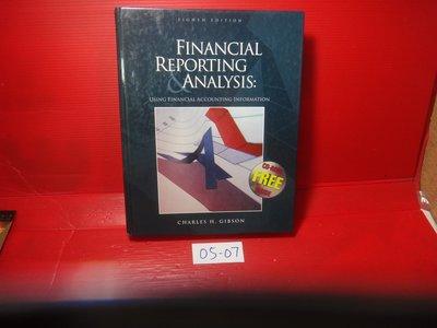 【愛悅二手書坊 05-07】Financial Reporting and Analysis