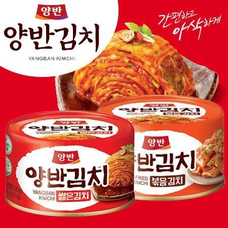 韓國 DONGWON 東遠 兩班 泡菜罐頭 160g 泡菜 炒泡菜 韓式泡菜 超下飯 罐頭【SA Girl】