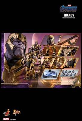 公眾首日訂單 Hottoys The Avengers Endgame 1/6 Thanos Hot Toys 滅霸 魁隆
