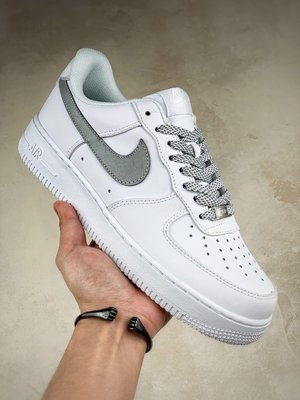 """AIR Force 1 """"Static Refective"""" 滿天星內置氣墊Size:36-45"""