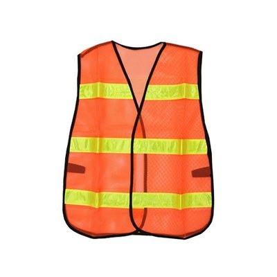【醫碩科技】TA-004 環保反光背心 確保夜間清掃/交管/行車等活動安全