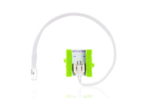 美國 littleBits 零件 (output): UV LED  (8折出清)