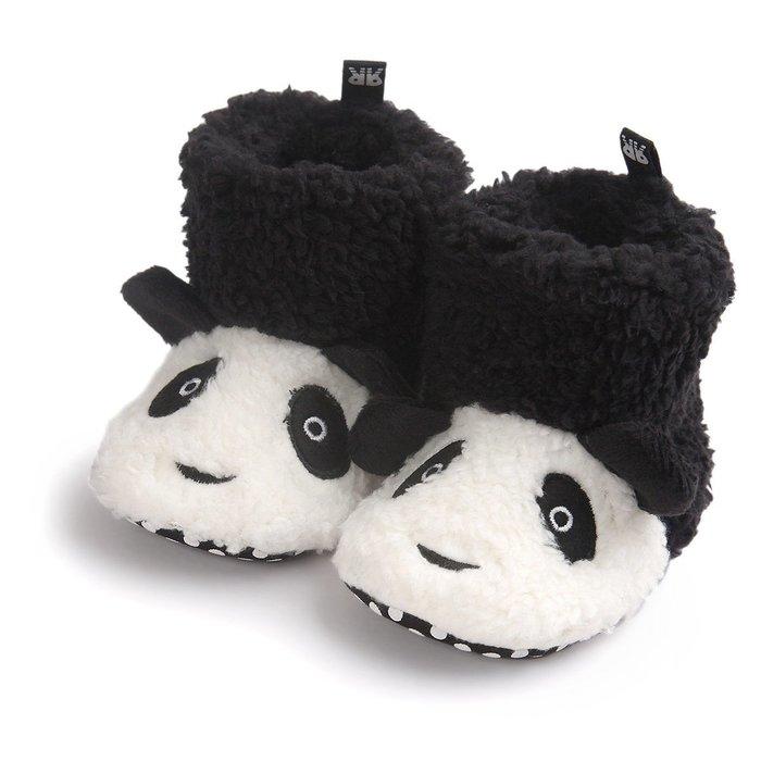 森林寶貝屋~熊貓造型雪鞋~學步鞋~保暖鞋~寶寶鞋~嬰兒鞋~童鞋~學走鞋~保暖舒適~彌月贈禮~特價1雙135元