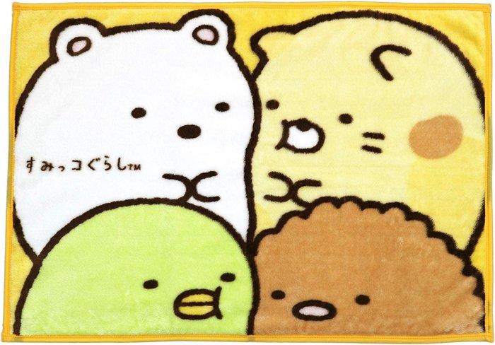 ☆Juicy☆日本 san x  角落生物 牆角生物 毛毯 便攜式空調毯 冷氣毯 3682