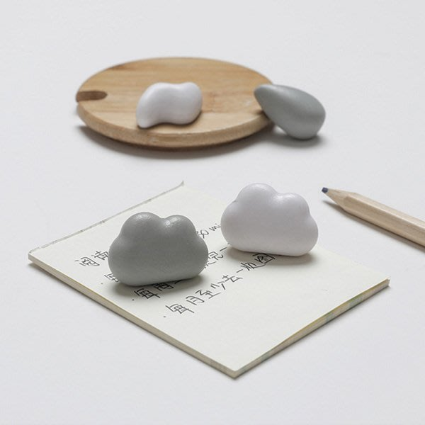 《Jami Honey》【JC3298】氣象預告雲朵雨滴閃電冰箱貼 磁鐵