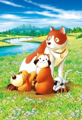 協泰拼圖舖-現貨 EPO-26-264s 世界名作劇場 小浣熊 在大自然中 300片 EPOCH