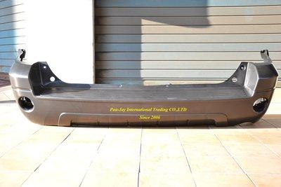 ※寶捷國際※ FORD 2004-2007 ESCAPE 後保桿 無雷達無護板孔 P4E11650210AB ㊣