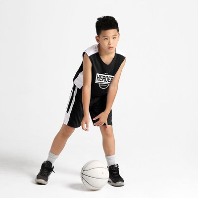 正品球衣~籃球服訂製 套裝男大學生兒童訓練隊服兒童球衣籃球背心印字比賽