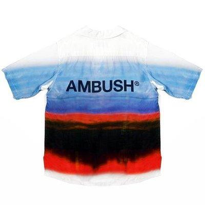 Ambush 19SS Hawaiian Shirt 漸層色 渲染 短袖 襯衫