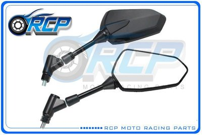 RCP YAMAHA FZ1 FZ1N FZ1 N 2008~ 黑色 後視鏡 後照鏡 台製 外銷品 955