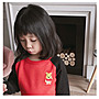 miuko BABY款日系嬰幼兒兒童男女寶寶男童女童 2020秋款 可愛 撞色 卡通 針織毛衣