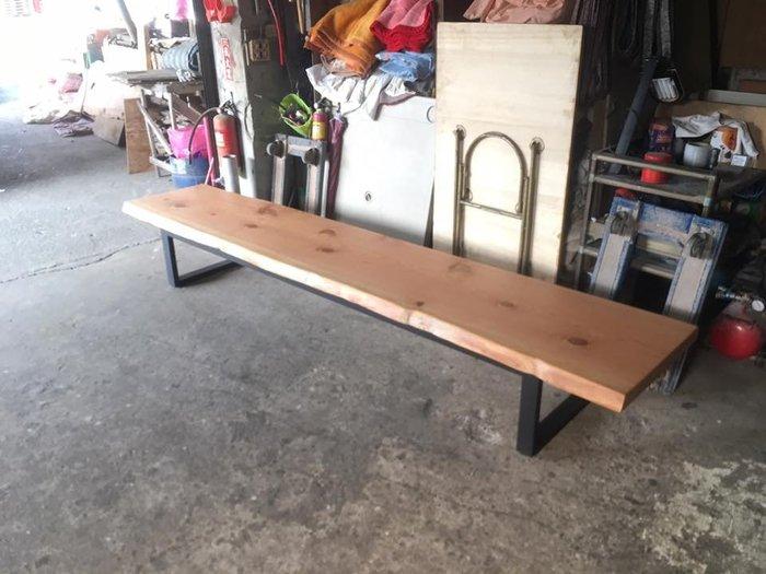 【順發傢俱】寮國檜木 穿鞋凳 多種木料訂製 280*60
