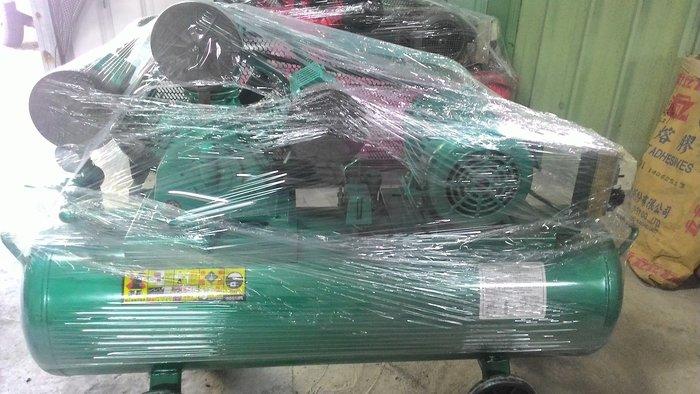 中古復盛牌5HP空壓機東元馬達(收購.買賣.維修.保養空壓機,請見關於我)
