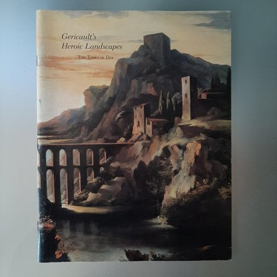 【快樂書屋】紐約大都會藝術博物館1990英文書刊期刊-Gericault's Heroic Landscapes: The Times of Day