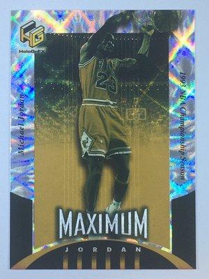 1999-00 UD HoloGrFX Maximum Jordan #MJ3 Michael Jordan Bulls