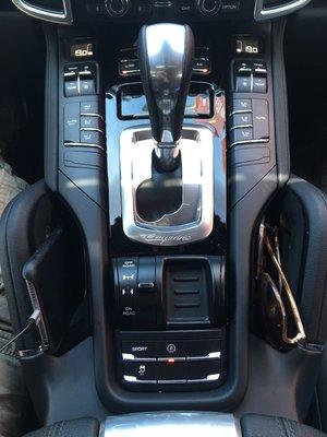 Porsche Cayenne 958 / 958.2 中央扶手置物盒